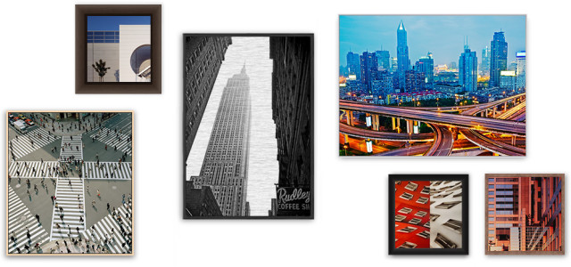 Our Frame Options For HD Metal Prints