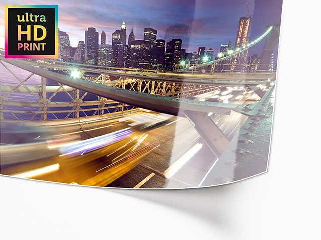 Metallic ultraHD Photo Print | Rolled Paper View