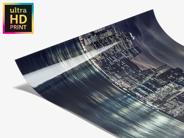 Acrylic ulraHD Metallic Print Photo Paper create