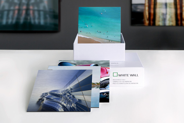 Sample Pack Metal Aluminum Photo Prints