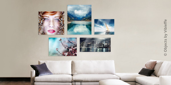Acrylic Prints on the wall