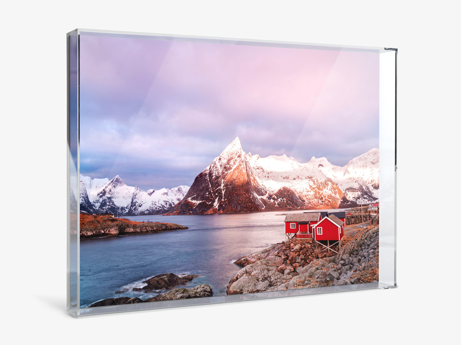 Create Photo Print with Acrylic Box Frame