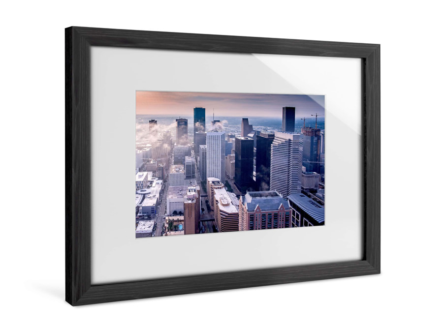 Solid Wood Frame with Passe-partout | Full View