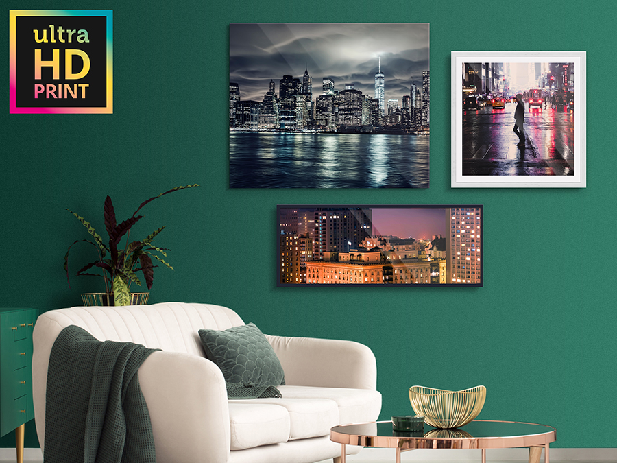 Acrylic ultraHD Metallic Print | Formats and Frames