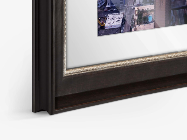 Frame London with Passe-partout