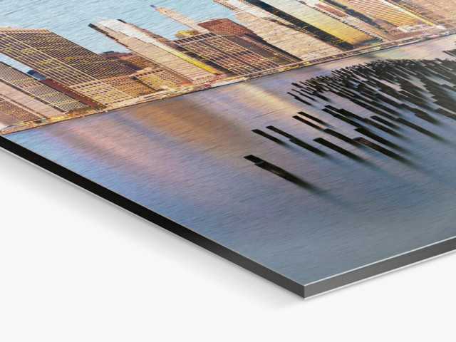 Aluminum ArtBox | Direct Print On Brushed Aluminum