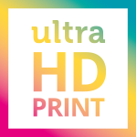 ultraHD Logo Photo Print
