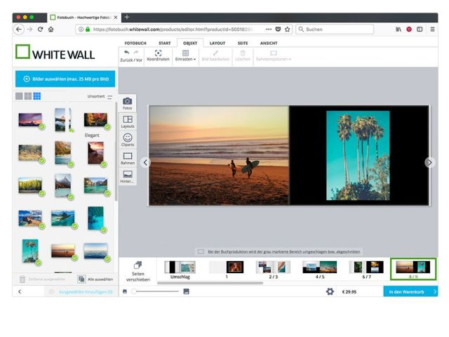 Create a Custom Photo Book in-Browser   WhiteWall