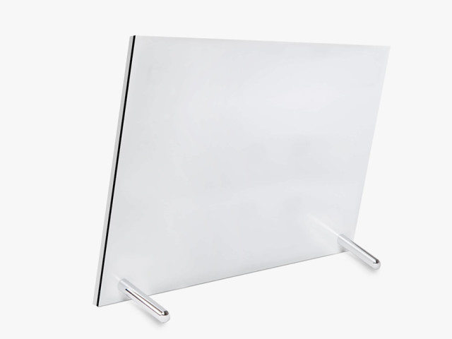 Chrome-Plated Brass Posts for Acrylic Photo Glass stands