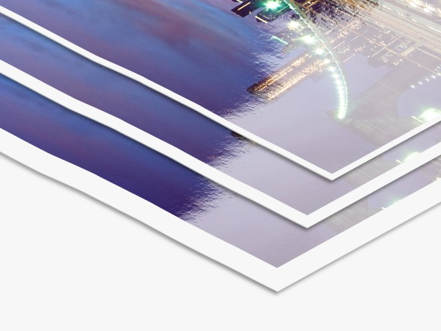 LightJet Print on Kodak Metallic | White Border