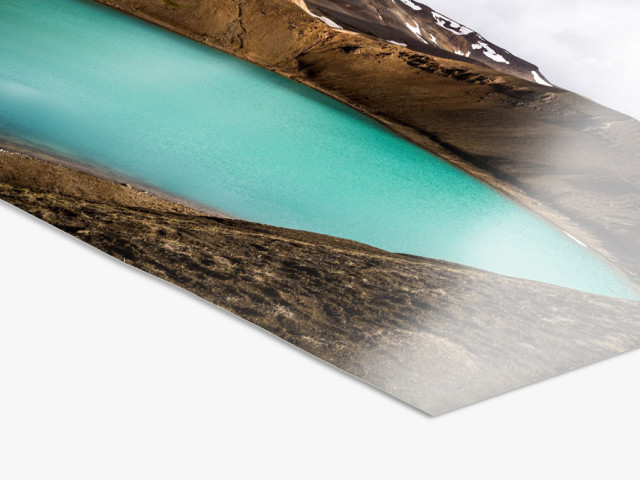 Aluminium Standard Frame | UV Photo Paper