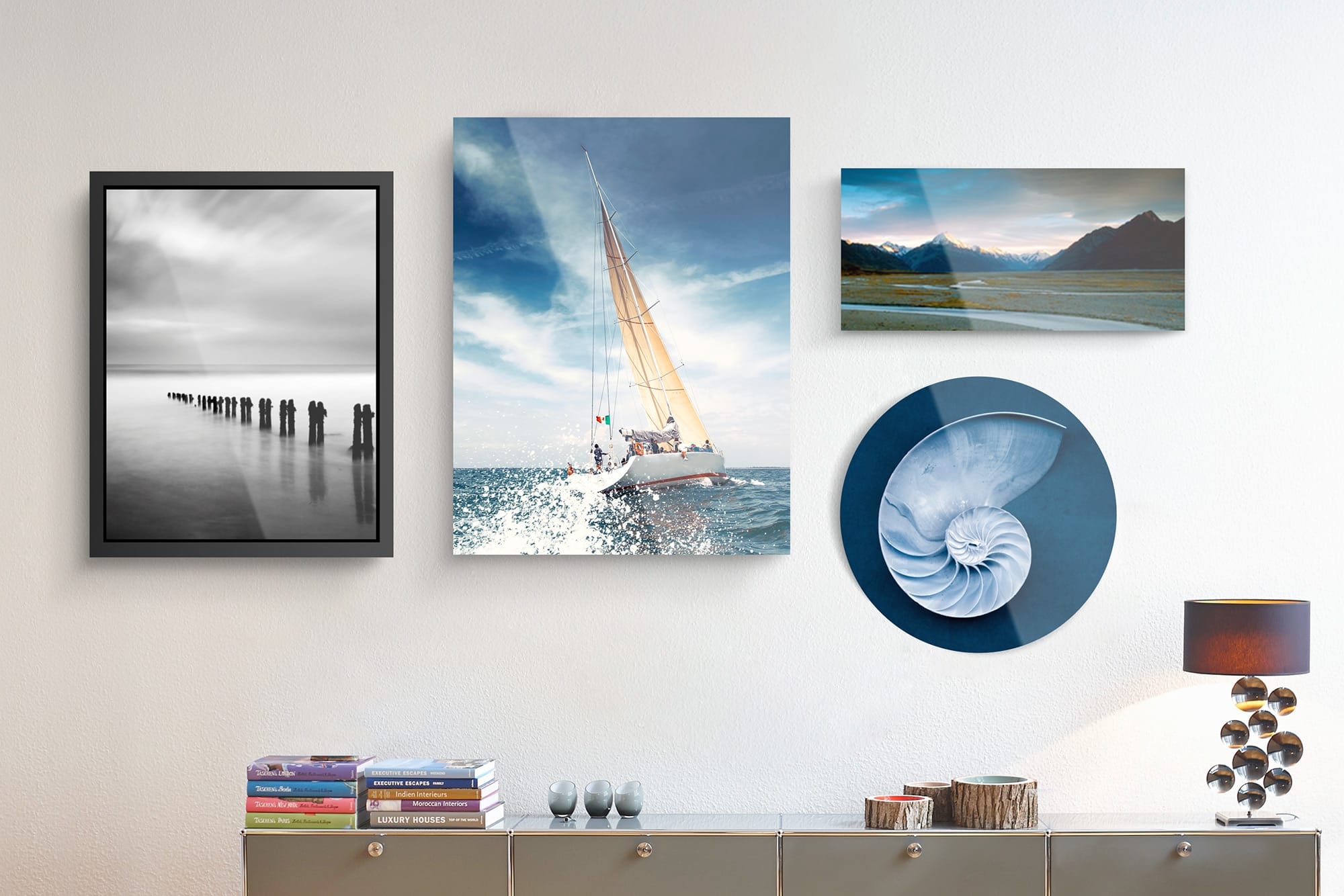 Original Photo Prints Under Acrylic Glass | Various Formats