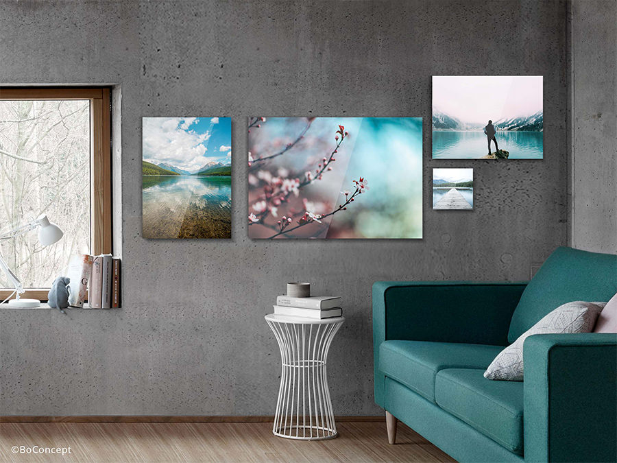 Acrylic Photo Print | Different formats ad Room View