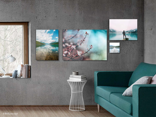 Acrylic Photo Print create
