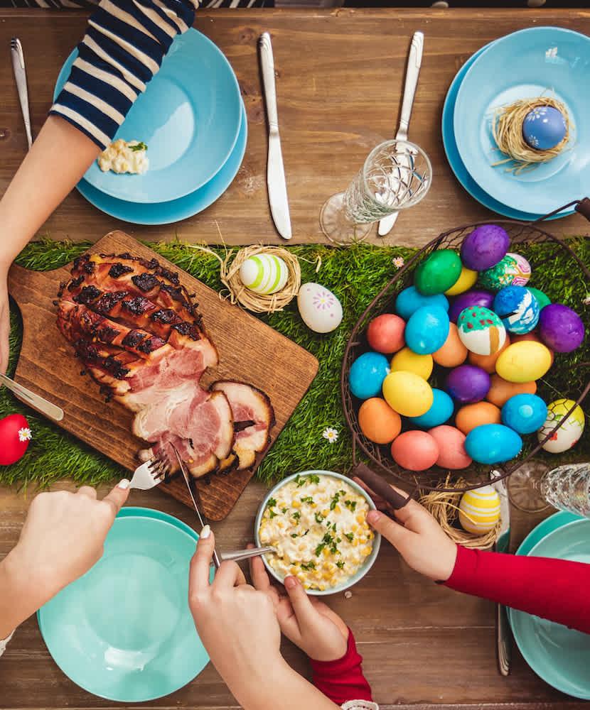 Easter Dinner Menu and Wine Pairing