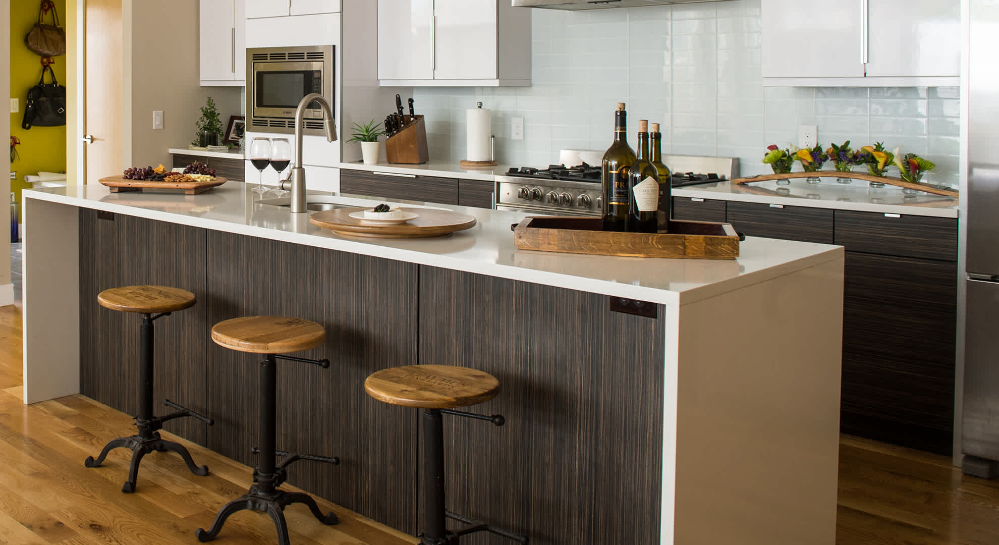Alpine Wine Design is an artisan designed and built collection of wine barrel furniture and home decor. Our family owned company gives old vintner supplies a new life by creating beautifully crafted furniture and functional pieces of art from wine crates and barrels. Proudly made in Colorado since 2006.