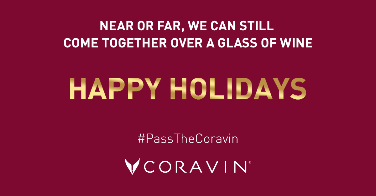 pass the coravin 60 second video