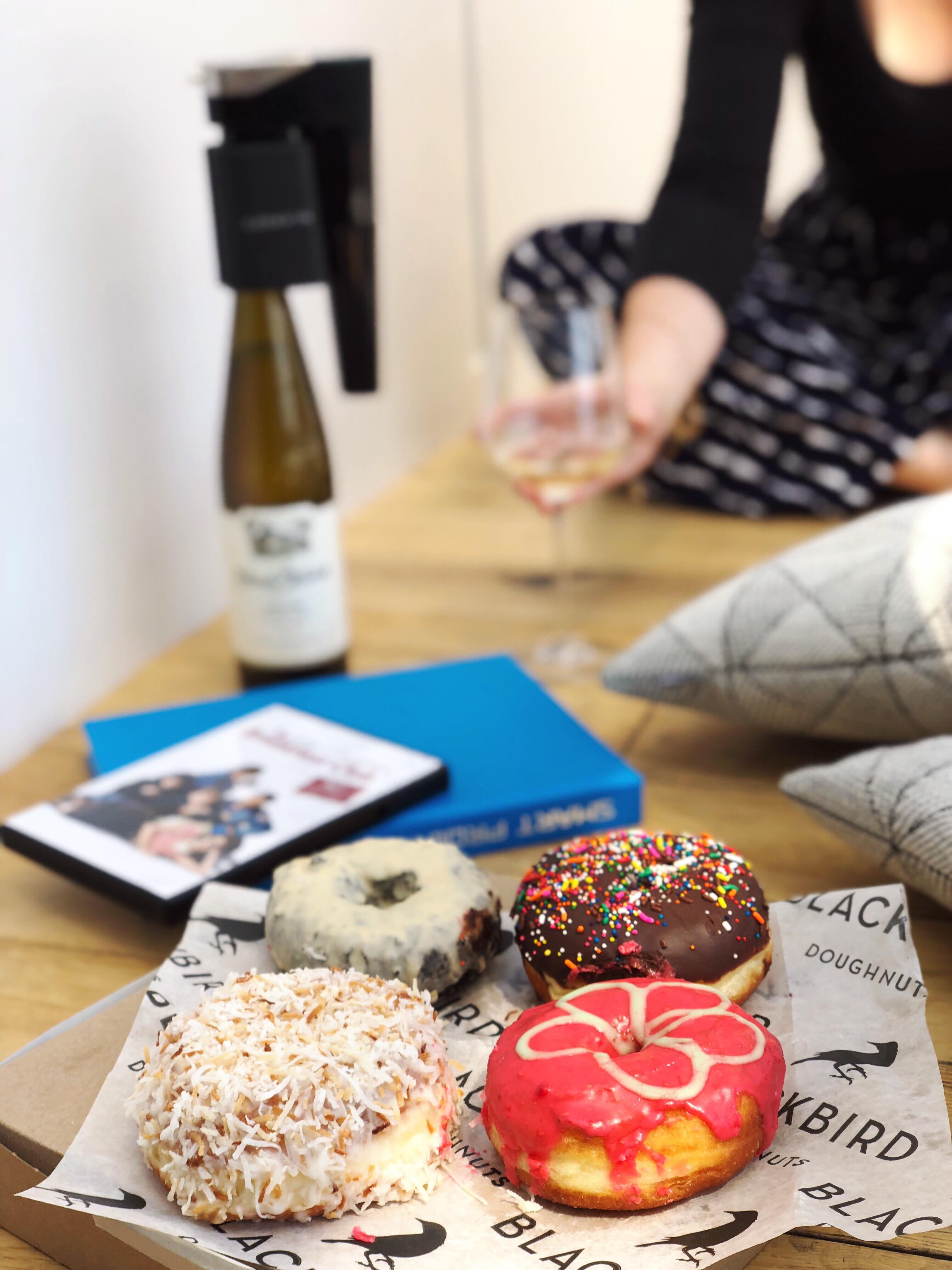 new years donut pairing