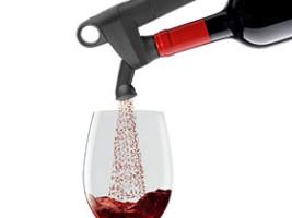 Aérer le vin en quelques secondes