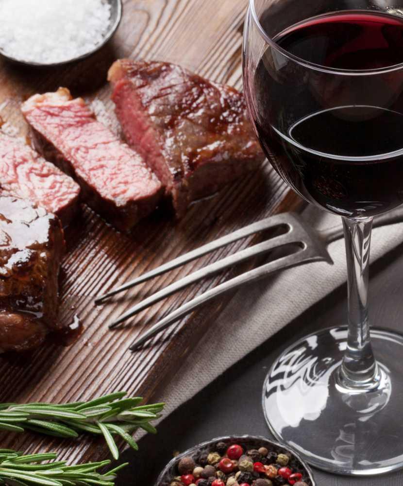 Menù di San Valentino: Vino e portate della cena