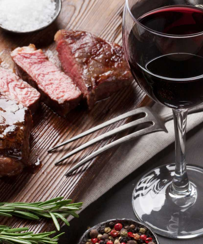 Valentine's Day Wine and Dinner Menu