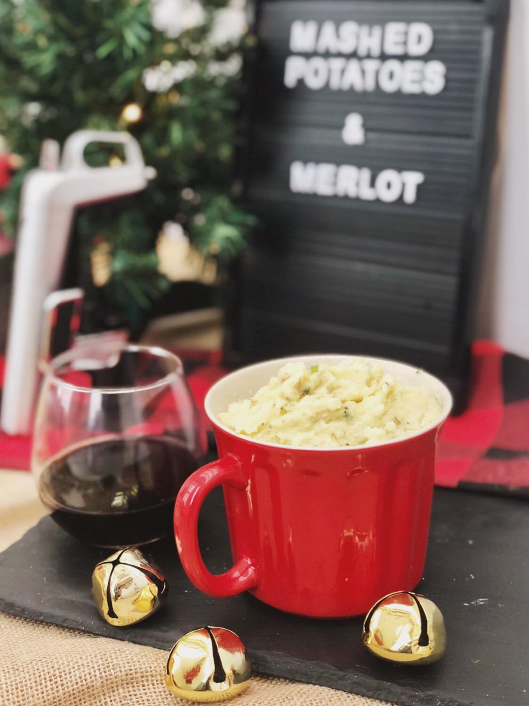 christmas wine pairings mashed potatoes merlot