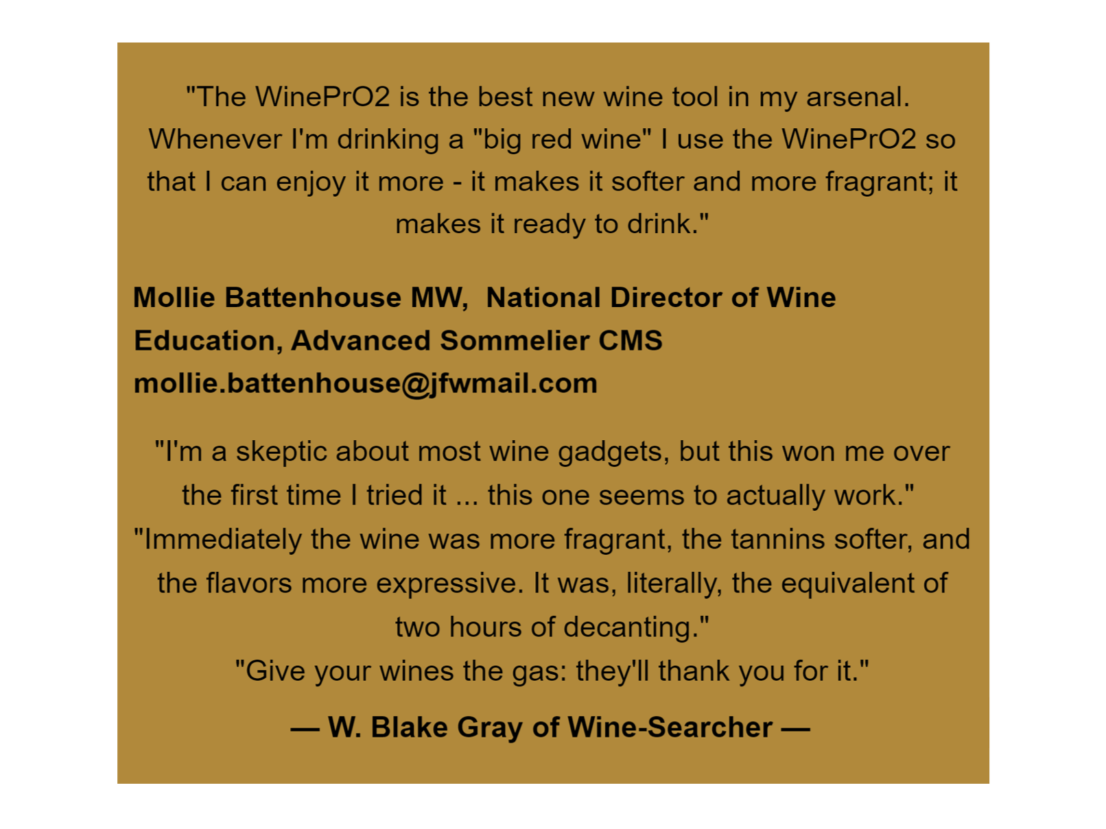 WinePrO2 2