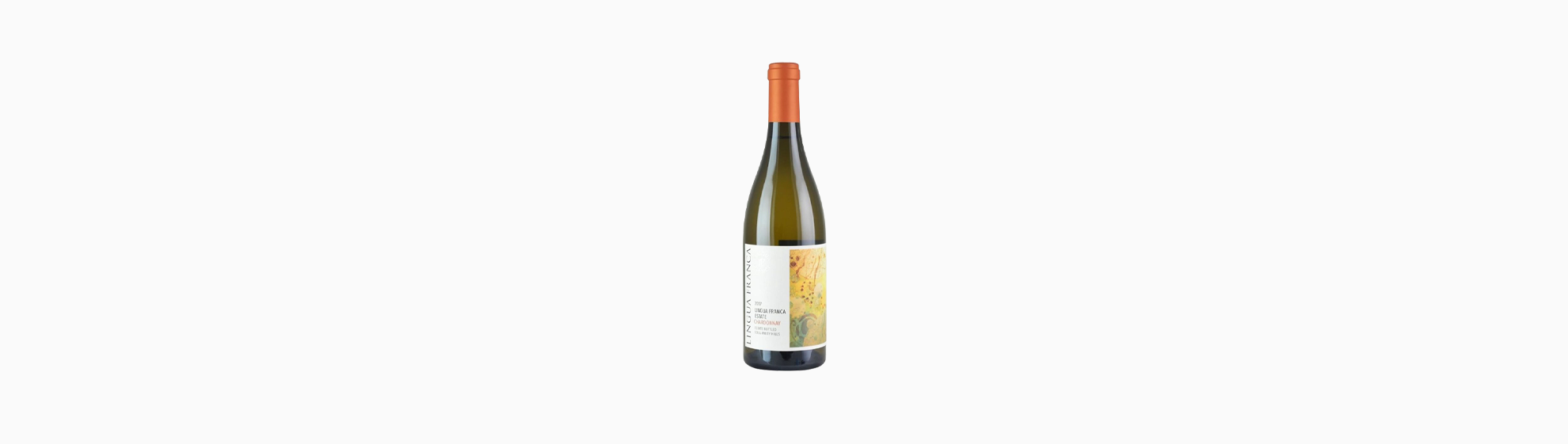Wine bottle of Lingua Franca Estate Chardonnay 2018 (Eola-Amity Hills)