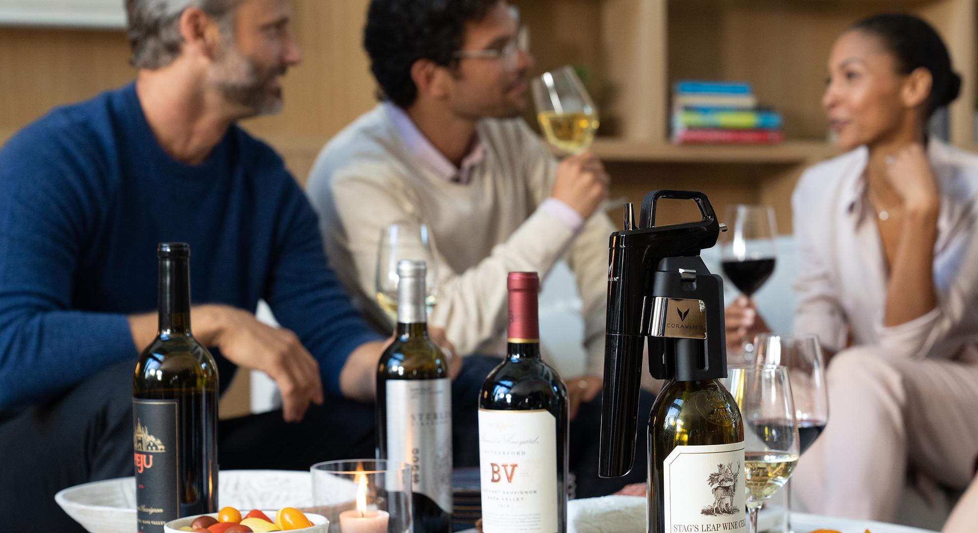 around the table coravin wine