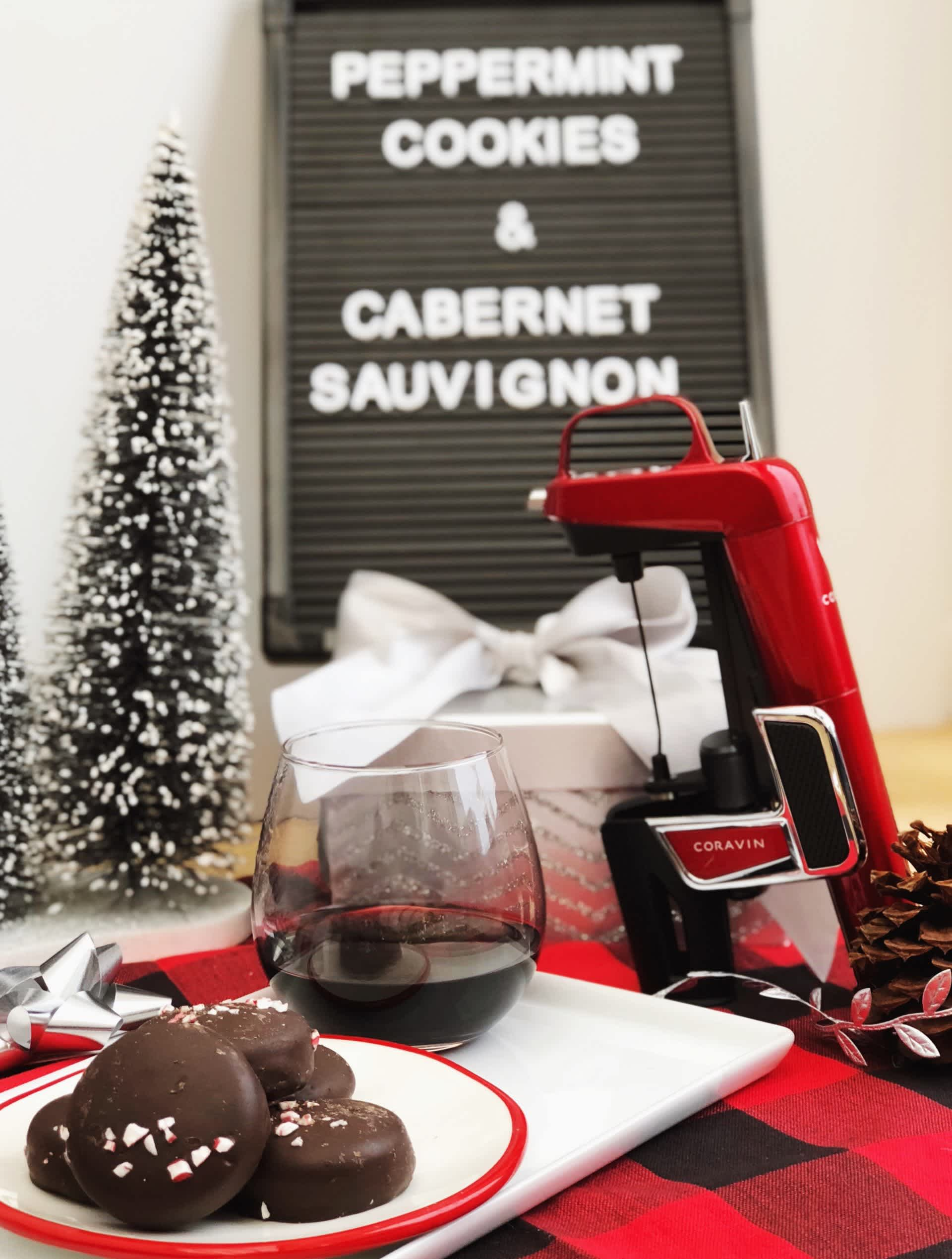 peppermint cookies wine pairing