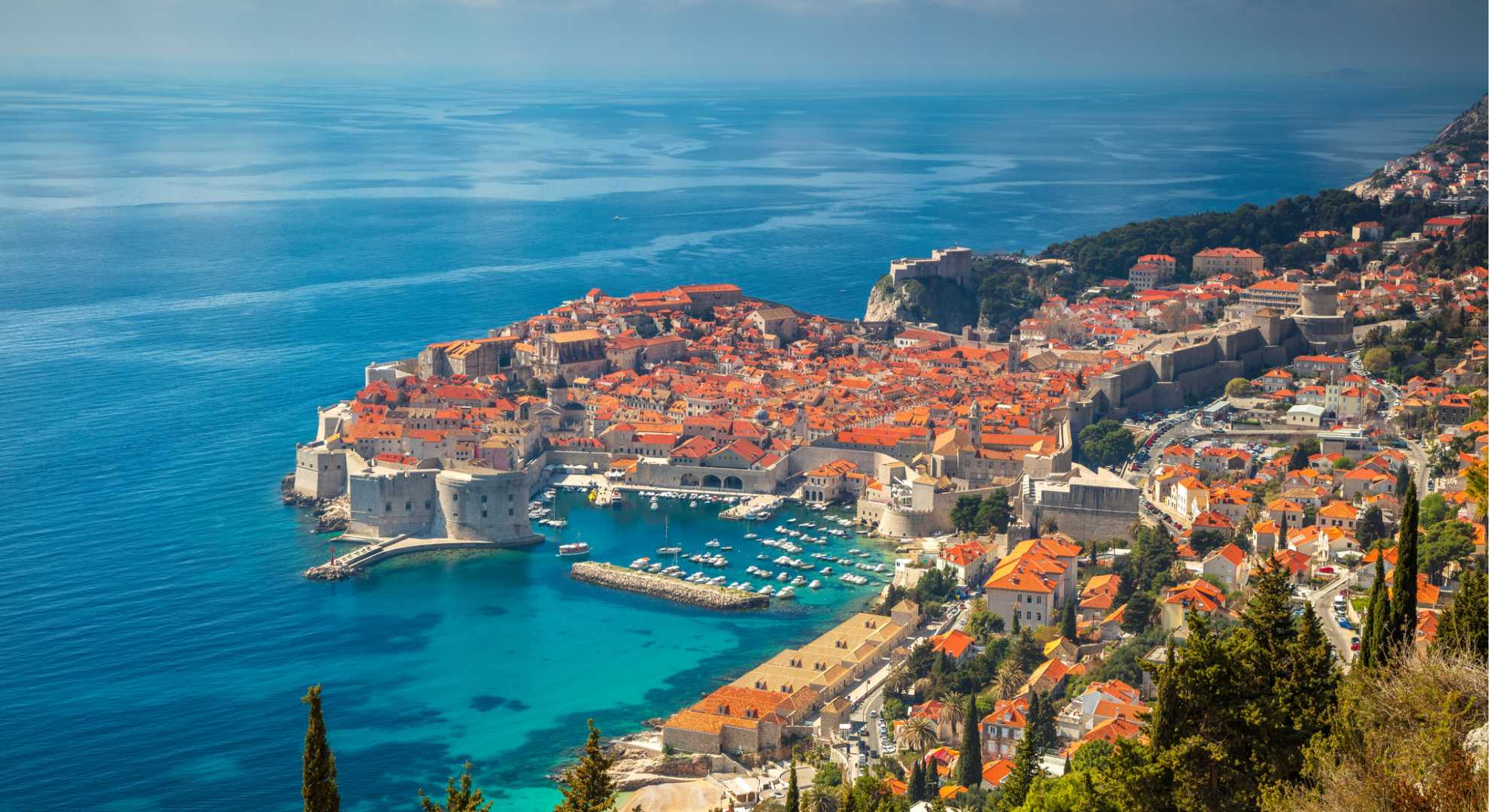 dubrovnik from the port BANNER