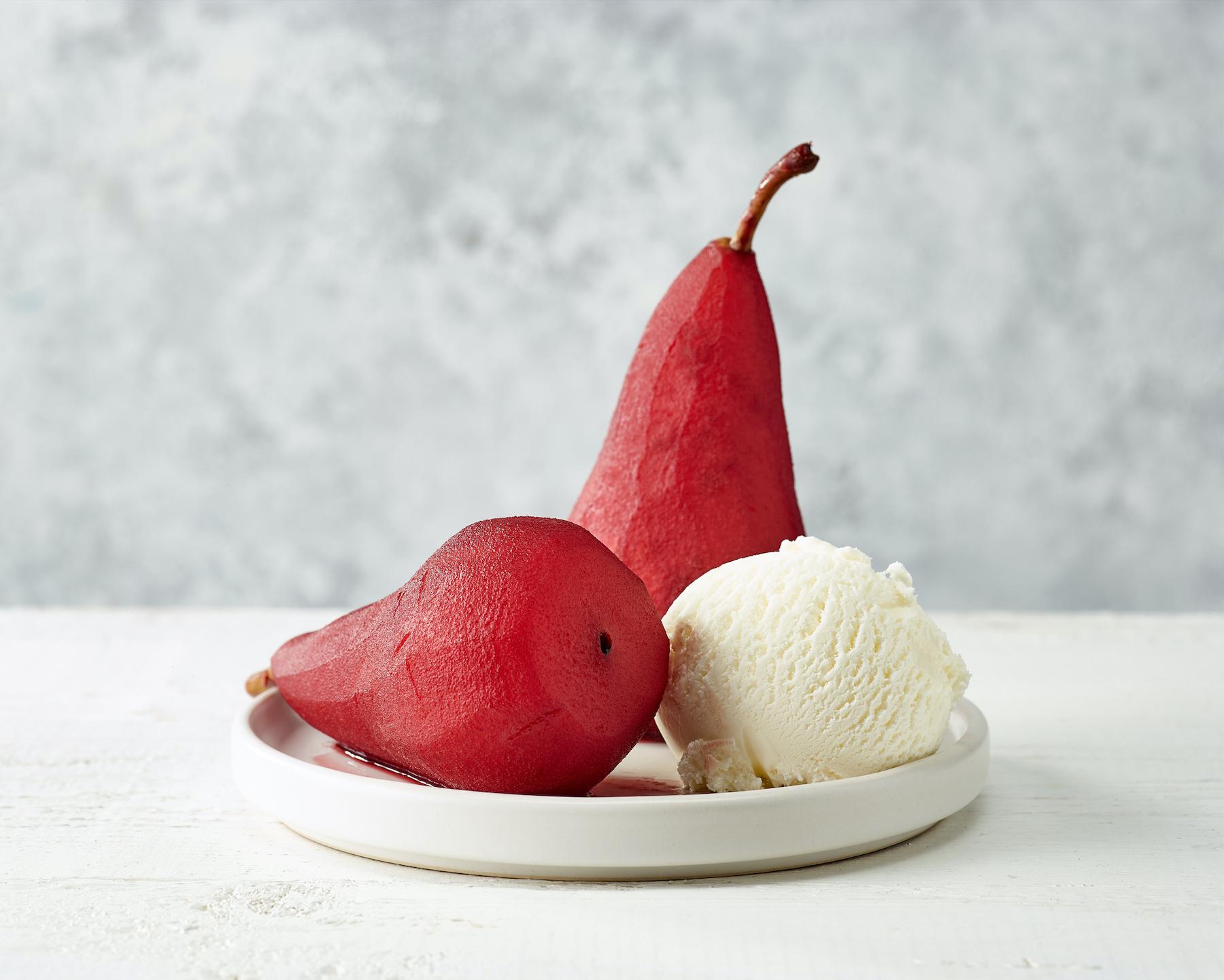 wine pears