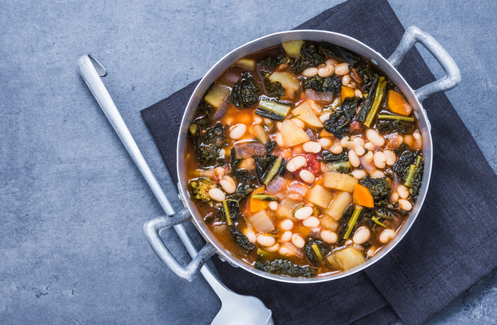 white bean kale soup healthy