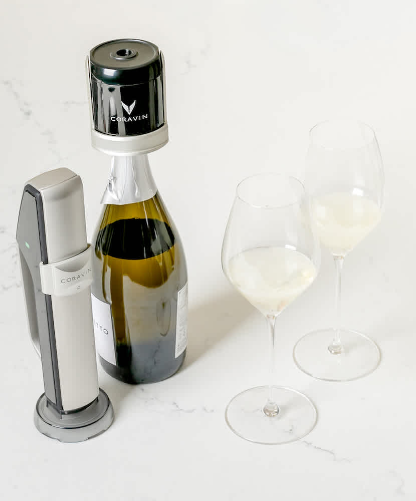 Coravin Sparkling Makes Debut at Yearly Blind Tasting, Results and More