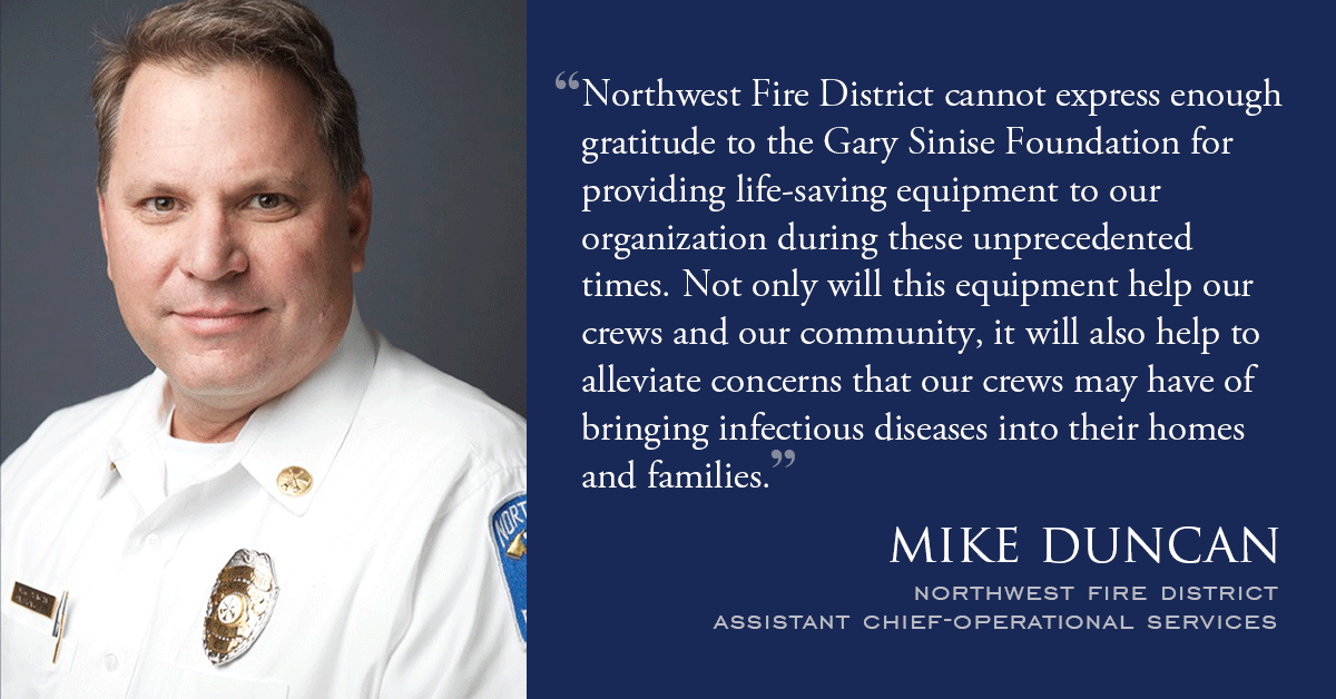 Northwest Fire Quote