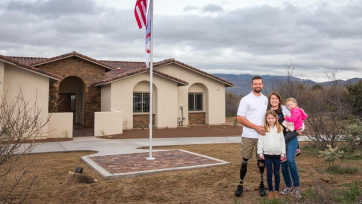 Caleb Brewer Home Dedication