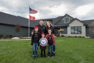 USMC Cpl Chad Watson Home Dedication