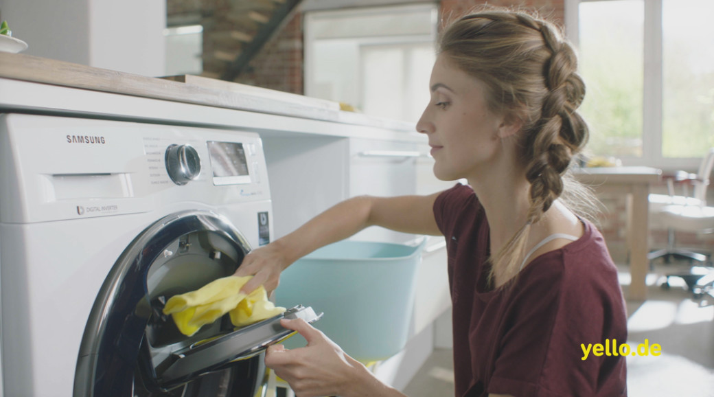 Samsung AddWash™ neu im Yello Plus-Tarif.