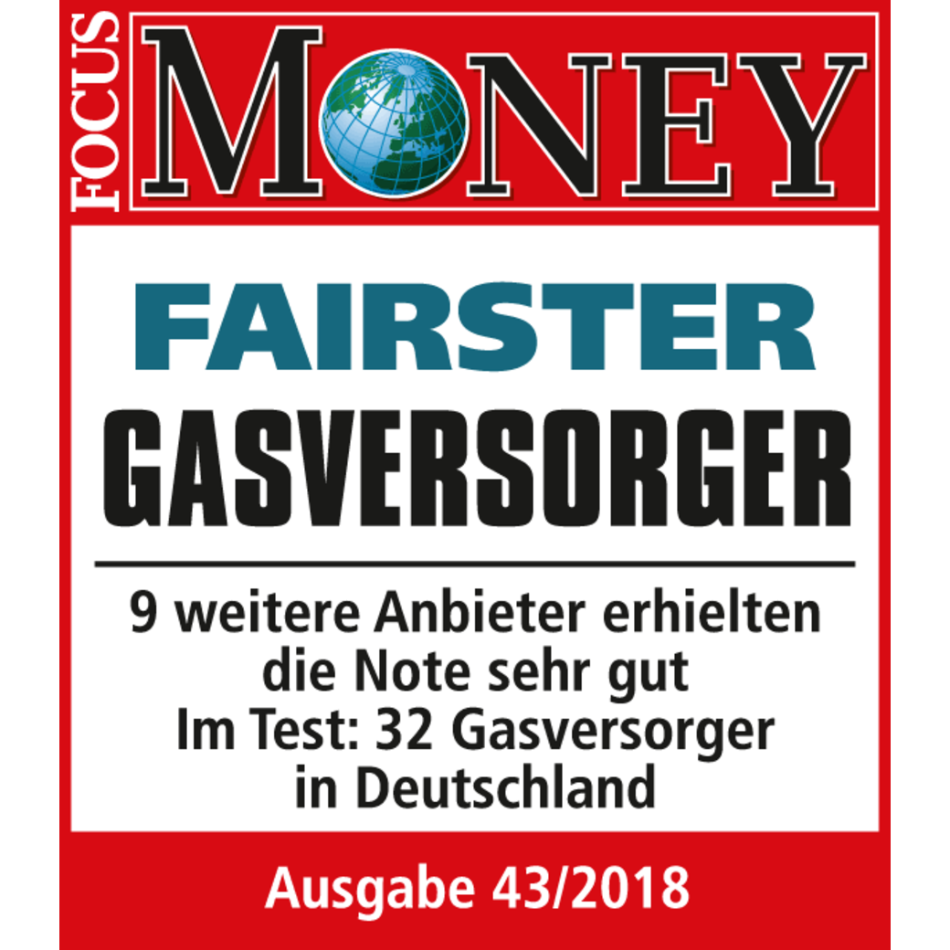 Focus Money: Fairster Gasversorger