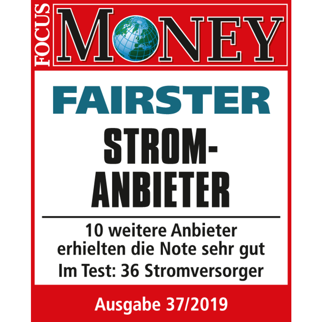 Focus Money: Fairster Stromanbieter