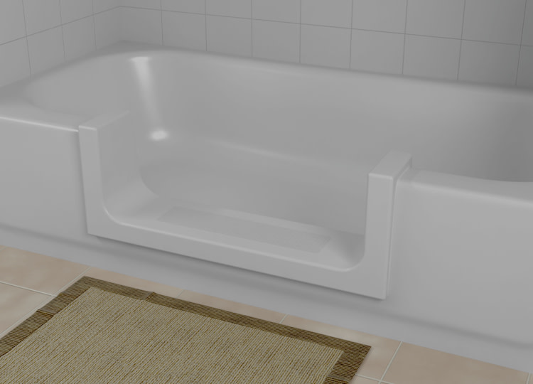CleanCut Tub Installation at the Home Depot on