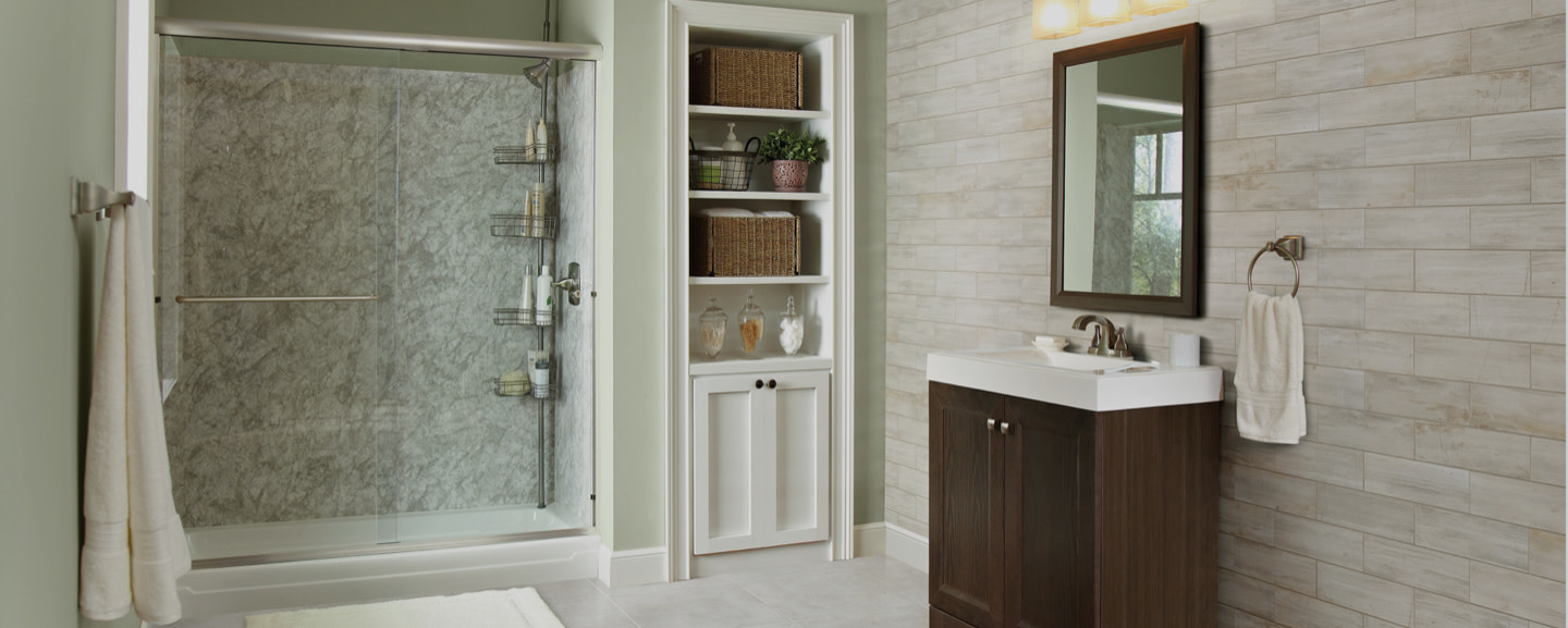 Tub To Shower Conversion At The Home Depot