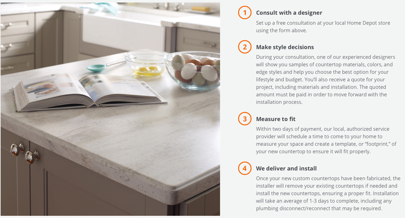 How It Works Desktop Countertops