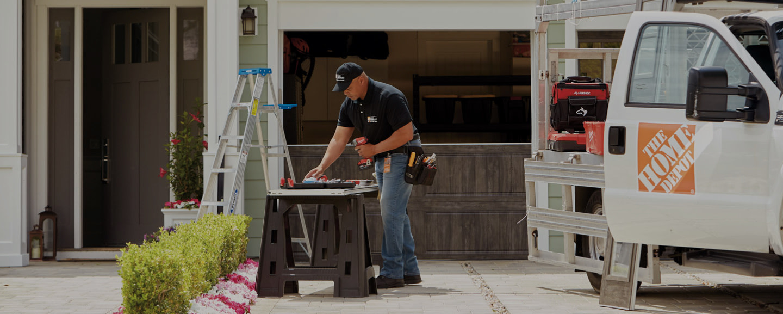 Garage Door Repair at The Home Depot