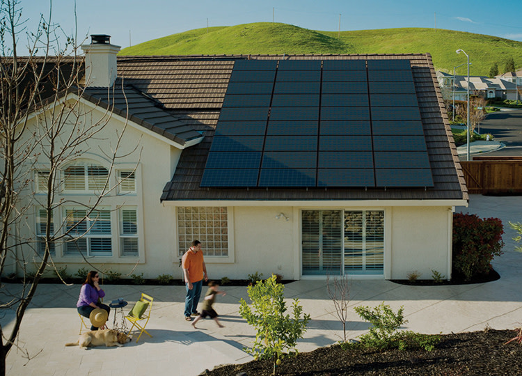 Solar Panel Installation at The Home Depot on