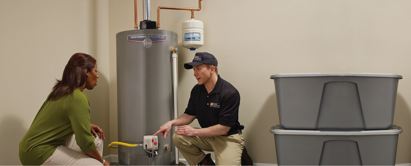 Water Heater Repair Services at The Home Depot