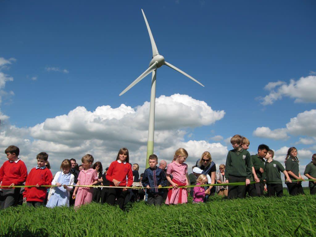 Gamlingay Community Turbine: Energising village life