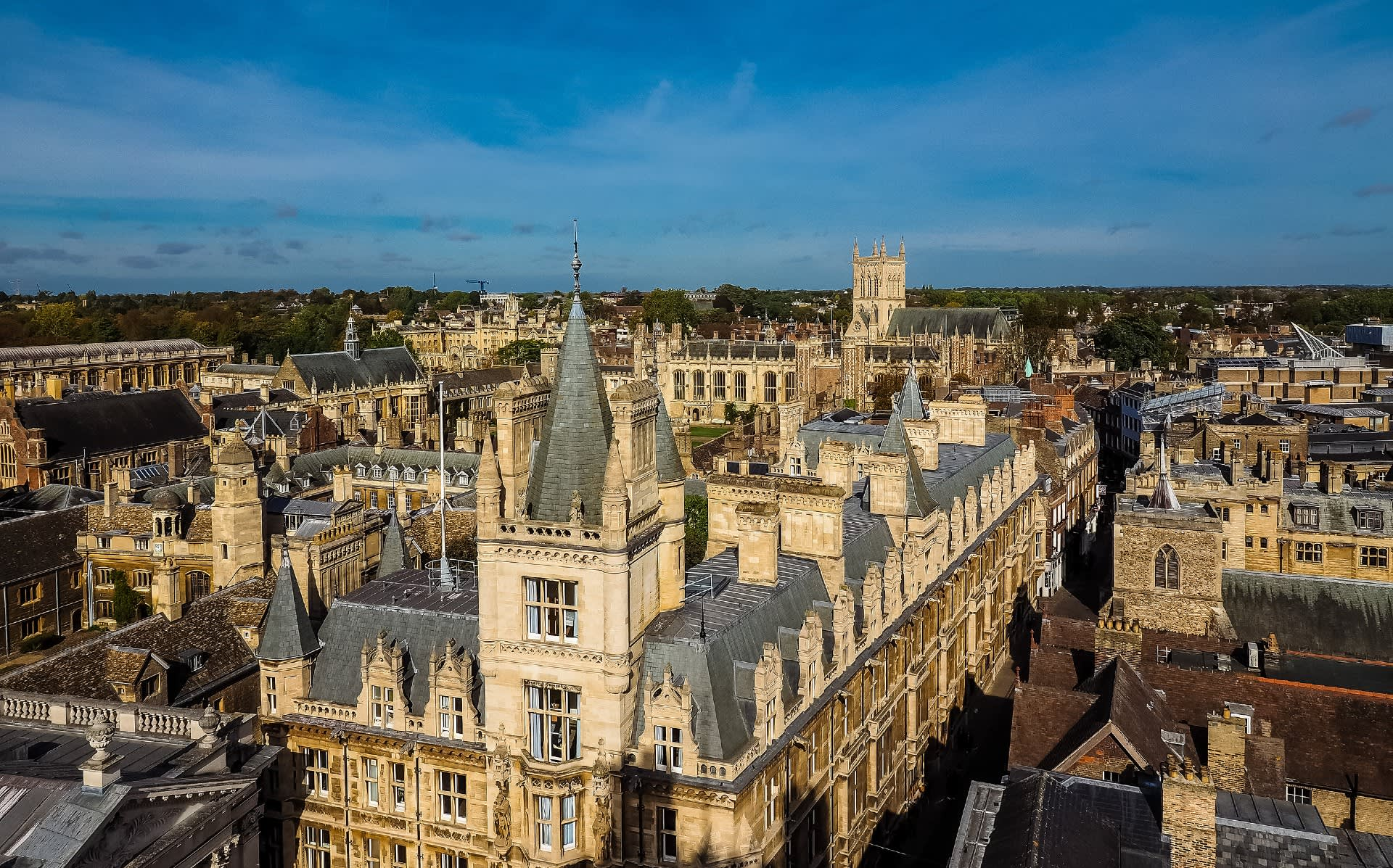 Cambridge Colleges Consortium renews with Opus Energy for 100% renewable supply - Hero Image