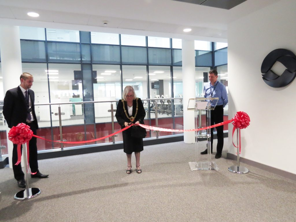 Rt Hon Lord Mayor of Cardiff opens Opus Energy's Cardiff office