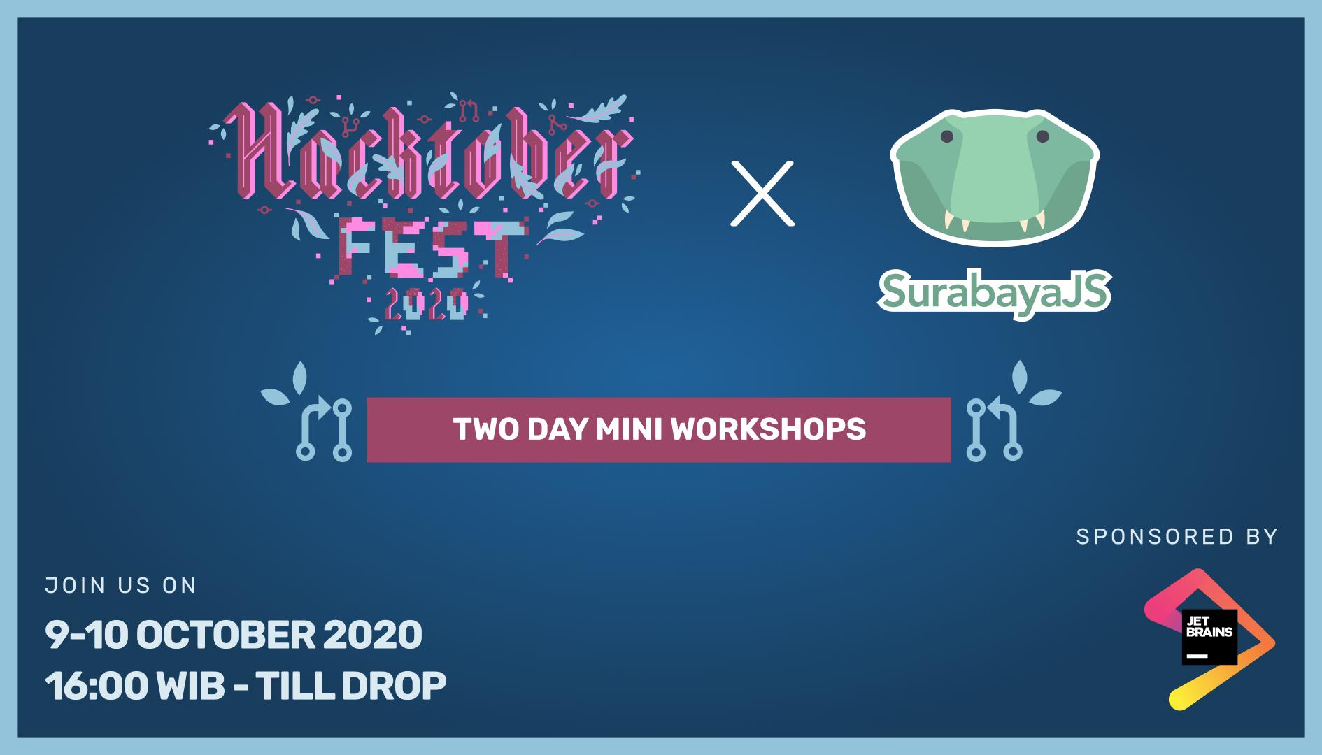 Hacktoberfest 2020 Mini Workshops